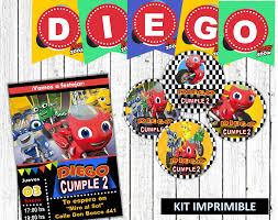 Kit Imprimible Ricky Zoom Kit Imprimibles