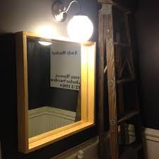 diy shadowbox mirror front life