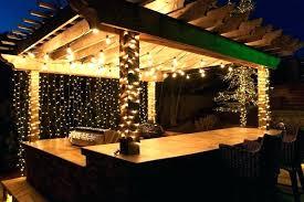 patio lights ideas decorating solar