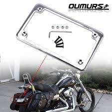 motorcycle license plate frame for 7 x