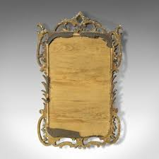 antique victorian golden mirror for