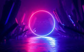 43 neon hd wallpapers background