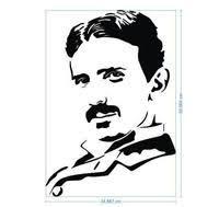 Nikola Tesla Wall Decal Project Yourself