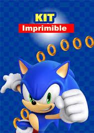 Sonic Kit Imprimible Personalizado Decoracion Cumpleanos 390