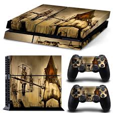 Ps4 Console Sticker Covers Decal For Playstation 4 Console Controller Protector Skins Silent Hill Wish