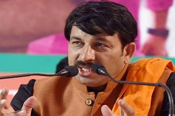 """Image result for Delhi BJP send Rs 500 crore defamation notice to AAP over campaign video showing Manoj Tiwari"""""""