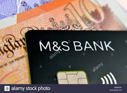 m s bank credit card and blurred cash