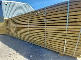 Timber Fence Rails Post And Rail Fencing Paddock Rails 38mm X 88mm X 3 6m Ebay