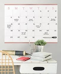 Wallpops Vogue Rose Dry Erase Monthly Calendar Decal Zulily