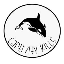 Captivity Kills Killer Whale Orca Vinyl Sticker Car Decal