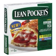 lean pockets pizza pepperoni with