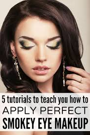 how to apply perfect smokey eye makeup