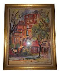 1963 Impressionist Old Desoto Hotel, Red Surrey Painting by Myrtle ...
