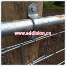 China Galvanised Hinge Strap Tight Fit 40nb Gate Hinge China Gate Hinge Adjustable Hinges