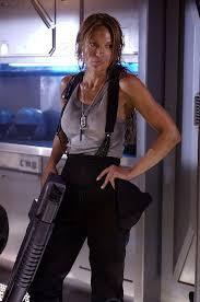 Jolene Blalock as Captain Lola Beck in Starship Troopers 3: Marauder :  starshiptroopers