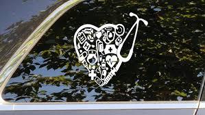Nursing Decal Nurse Vinyl Sticker Nursing Accessory Nursing Etsy Nursing Accessories Nurse Car Decal Nurse Decals