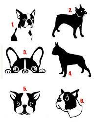 Boston Terrier Decal Boston Terrier Vinyl Sticker Boston Terrier Terrier Boston Terrier Dog Bost Boston Terrier Art Boston Terrier Tattoo Boston Terrier