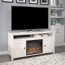farmington electric fireplace console