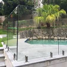 High Quality Tempered Glass Swimming Pool Fence Philippines Price For Sale Spigots Glass Railing Balustarde Manufacturer From China 107912493