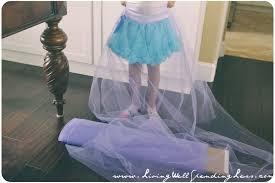 no sew full tulle skirt diy skirt