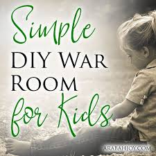 Simple Diy War Room For Kids Arabah War Room Prayer Closet War Room Prayers For Children