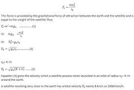 escape velocity and orbital velocity