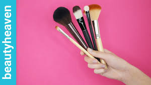 list of makeup brushes how to use