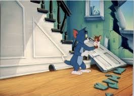 1993 Tom and Jerry #1 Knock, Knock It's a Wrecking Ball - NM-MT
