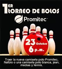 Primer Torneo De Bolos Promitec Natbio