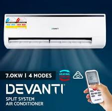 7 1kw reverse cycle split system air