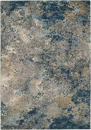 nourison artworks atw02 blue and grey