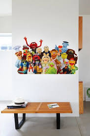New From Blik Muppet Decals For Your Walls Muppets Wall Decals Kids Room