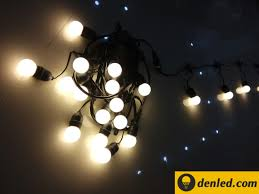 Đèn Led dây 5m 50 bóng tròn trong trang trí - ĐÈN LED