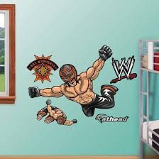 Wwe Wrestling Kids Rey Mysterio Wall Decal Sticker Wall Decal Allposters Com