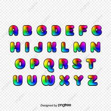 Letras De Colores Wordart Carta 26 Letras Creative Letras Png Y