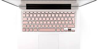 21 Brilliant Gifts For Anyone Obsessed With Rose Gold Macbook Keyboard Decal Keyboard Decal Keyboard Stickers