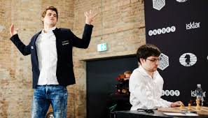 Carlsen yells swear word in rage at chess loss - The Local