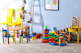 Vivid Kids Room With Toys Stock Photo Picture And Royalty Free Image Image 96079683