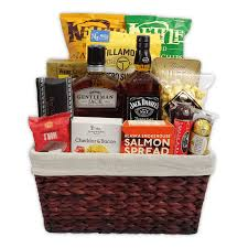 father s day whiskey gift basket