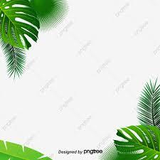 ورقة خلفية مواد الديكور اوراق خضراء اوراق الموز أخضر Png وملف