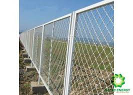 Metal Safety Wire Fence Panels Galvanized Safety Fence Protect Construction Site