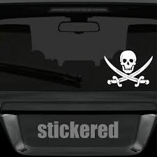 Window Sticker Bike Decal 150mm X 115mm Jolly Roger Pirate Skull Sword Car Archives Statelegals Staradvertiser Com