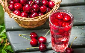 تحميل خلفيات عصير الكرز عصير الكرز الفاكهة الفواكه عريضة