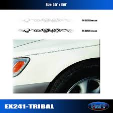 Car Truck Graphics Decals Motors Tribal Pinstripe Accent Graphic Vinyl Decal Side Car Truck Hairli Hr