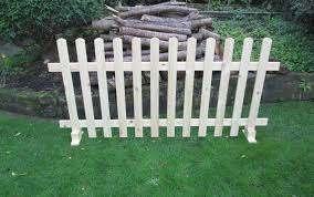 Timber Free Standing Picket Fence Panels Buy Online In Gibraltar At Desertcart