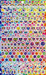 Amazon Com Lisa Frank Over 400 Stickers Toys Games