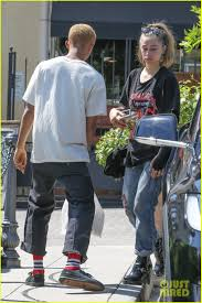Jaden Smith Goes Casual for Lunch with Girlfriend Odessa Adlon ...