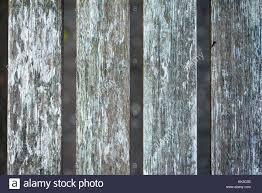 Wood Fence Panel With Gaps Stock Photo Alamy