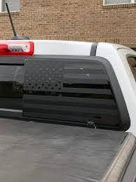 American Flag Decal Rear Window Fits 2015 Chevy Colorado Etsy