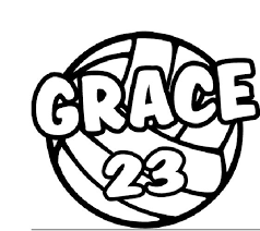 Personalized School Team Sports Window Decal Volleyball For Sale Online